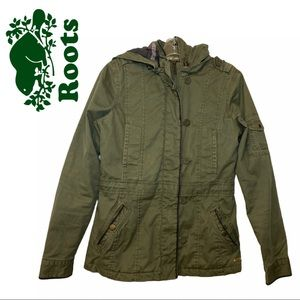 Roots Green Utility Jacket
